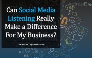 Social Media Listening | Aginto Blog