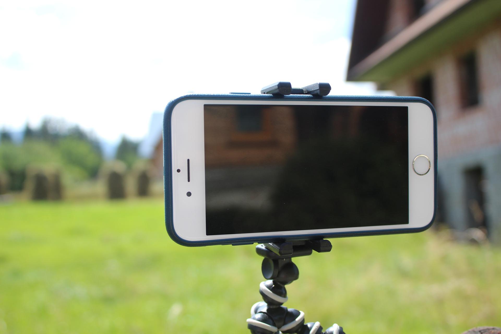 beginning video filming